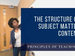 The Structure of Subject Matter Content
