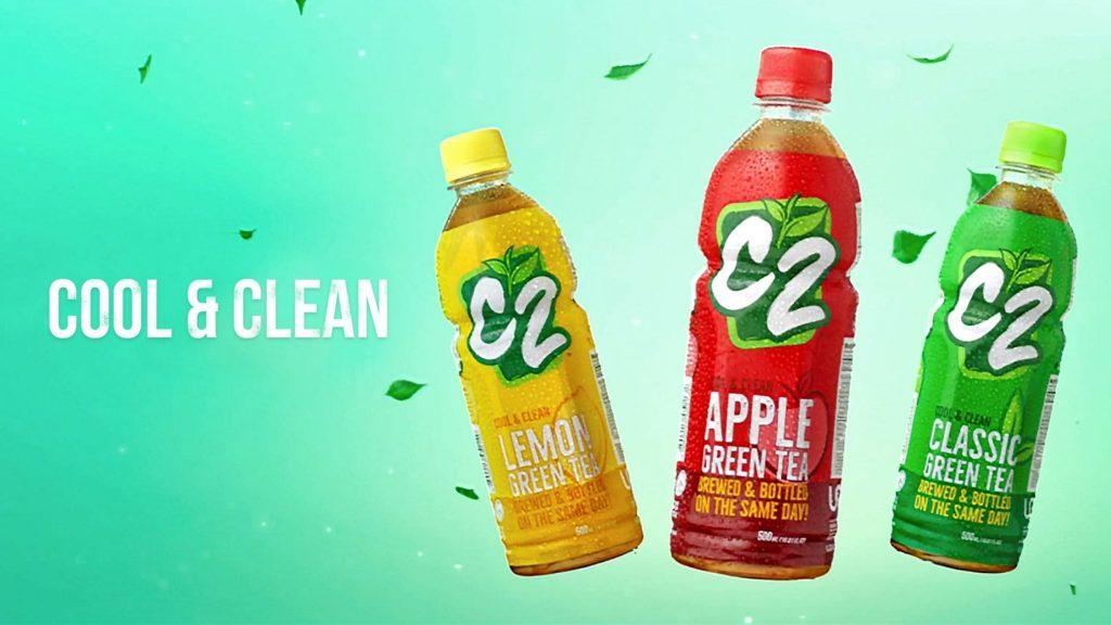 C2 Green Tea Bottled Drink
